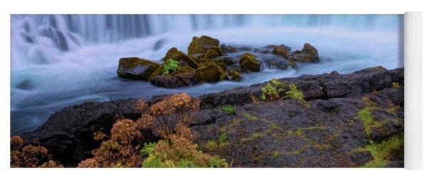 Iceland Water Scene Yoga Mat