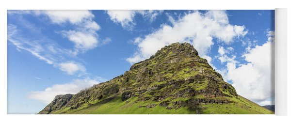Icelandic Landscape Yoga Mat