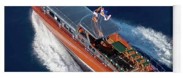 Iconic Thunderbird Yacht Yoga Mat