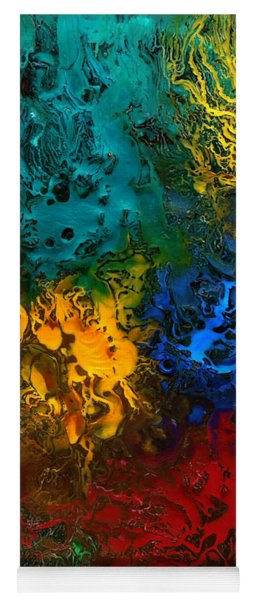 Icy Abstract 10 Yoga Mat