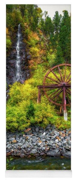 Idaho Springs Water Wheel Yoga Mat