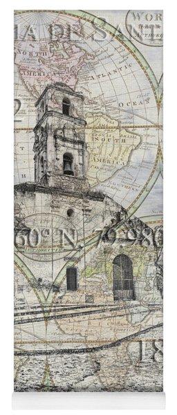 Iglesia De Santa Ana Passport Yoga Mat