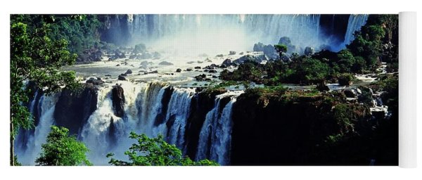 Iguacu Waterfalls Yoga Mat