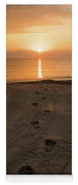 I'll Follow The Sun Delray Beach Florida Yoga Mat