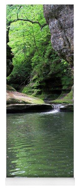 Illinois Canyon Summer Yoga Mat