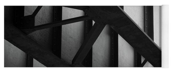 Illinois Terminal Bridge Yoga Mat