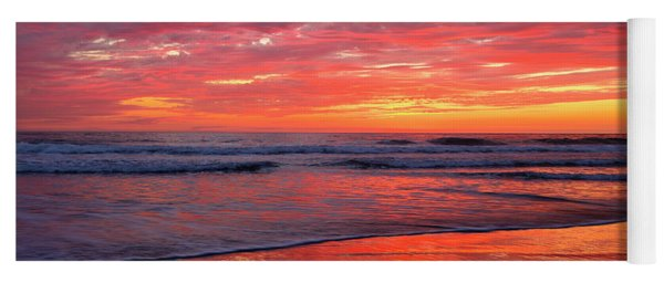 North County Waves Yoga Mat