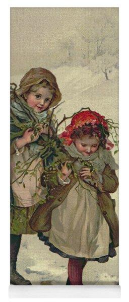 Illustration From Christmas Tree Fairy Yoga Mat
