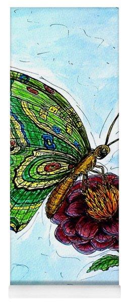Imagine Butterflies B Yoga Mat
