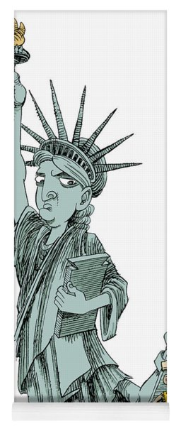 Immigration And Liberty Yoga Mat