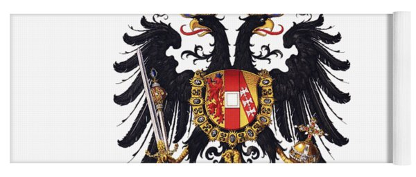 Imperial Coat Of Arms Of The Empire Of Austria-hungary 1815 Transparent Yoga Mat