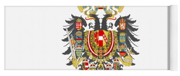 Imperial Coat Of Arms Of The Empire Of Austria-hungary Transparent Yoga Mat