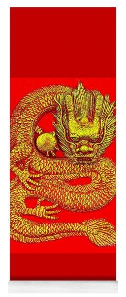 Imperial Dragon Of China Yoga Mat