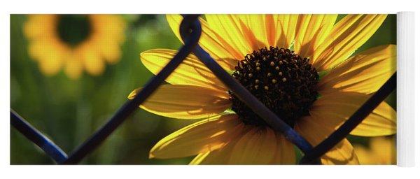 Imprisoned Sunflower Yoga Mat