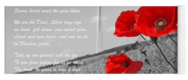In Flanders Fields Yoga Mat