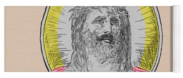 In Him We Trust Colorized Yoga Mat