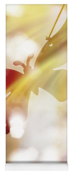 In Light Of Clipped Wings Yoga Mat