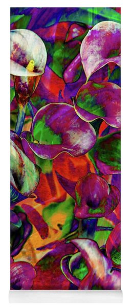 Yoga Mat featuring the photograph In Living Color by Az Jackson