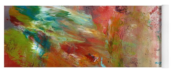 In My Dreams- Abstract Art By Linda Woods Yoga Mat