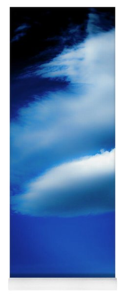 Yoga Mat featuring the photograph In The Air by Eric Christopher Jackson