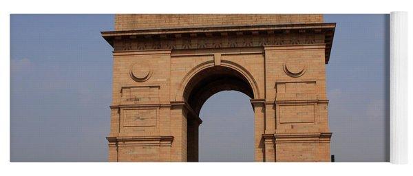 India Gate - New Delhi - India Yoga Mat