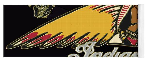Indian Motorcycle Logo Series 2 Yoga Mat