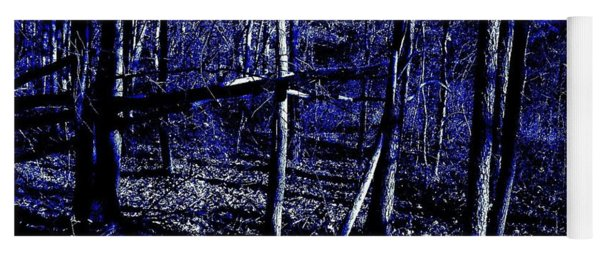 Indigo Forest Yoga Mat
