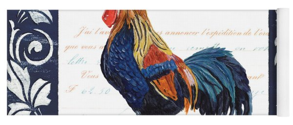 Indigo Rooster 2 Yoga Mat