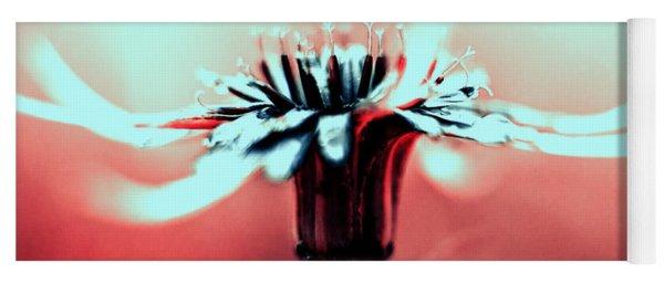 Infrared Wildflower Yoga Mat