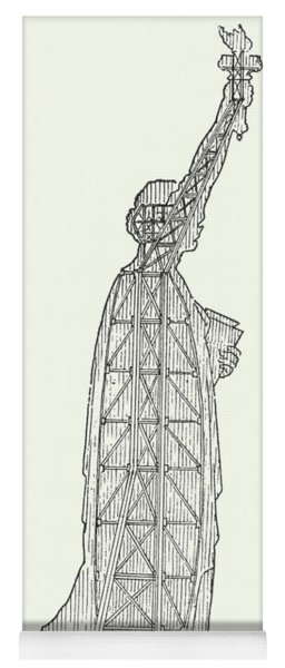 Inner Structure Of The Statue Of Liberty Yoga Mat