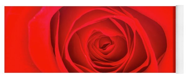 Inside A Rose Yoga Mat