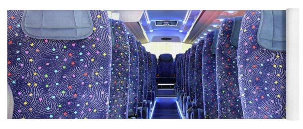 Inside Of New Bus  Yoga Mat