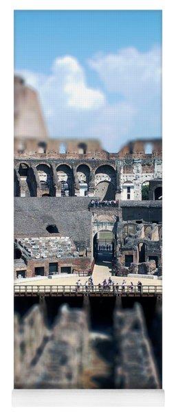 Inside The Colosseum Yoga Mat