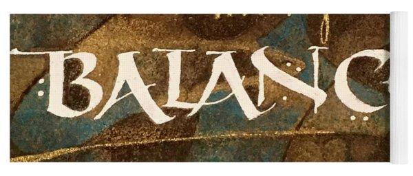 Inspirational Words Yoga Mat
