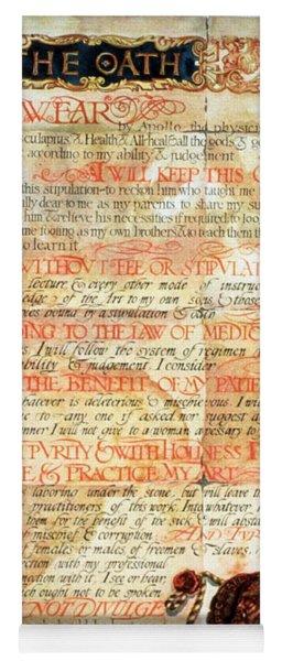 International Code Of Medical Ethics Yoga Mat