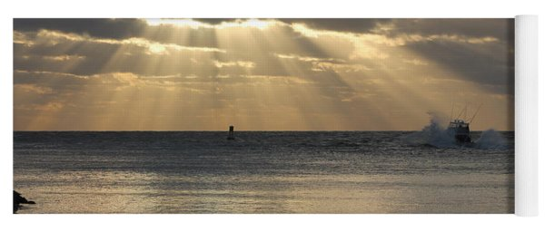 Into Dawn's Early Rays Yoga Mat