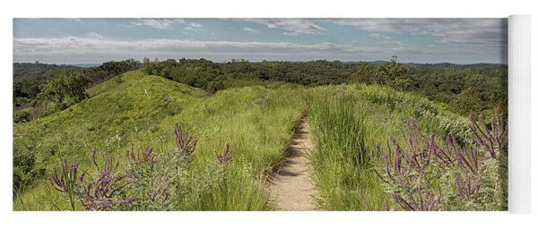 Into The Loess Hills Yoga Mat