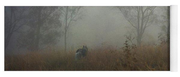 Into The Mist Yoga Mat