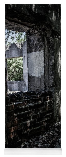 Into The Ruins 4 Yoga Mat