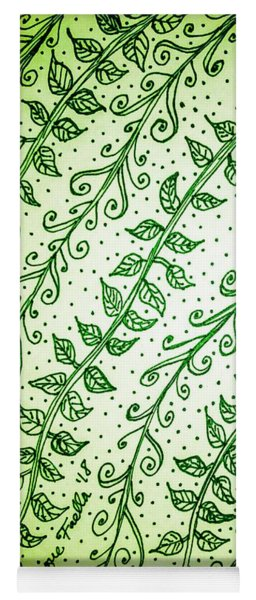 Into The Thick Of It, Green Yoga Mat