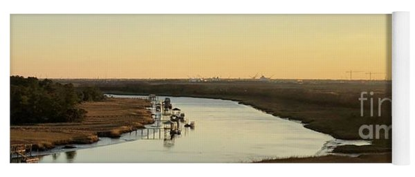 Intracoastal Waterway Yoga Mat