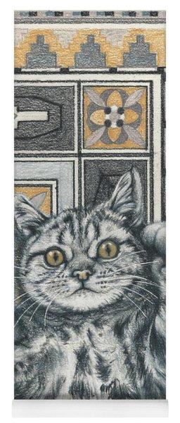 Invisible Cat Yoga Mat