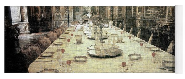 Invitation To Dinner At The Castle... Yoga Mat