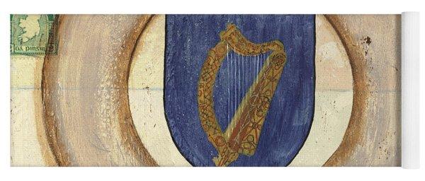 Ireland Coat Of Arms Yoga Mat