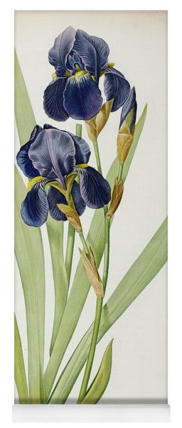 Iris Germanica Yoga Mat