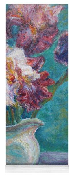 Iris Medley - Original Impressionist Painting Yoga Mat