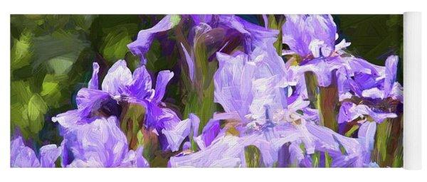 Irises For Mama Yoga Mat