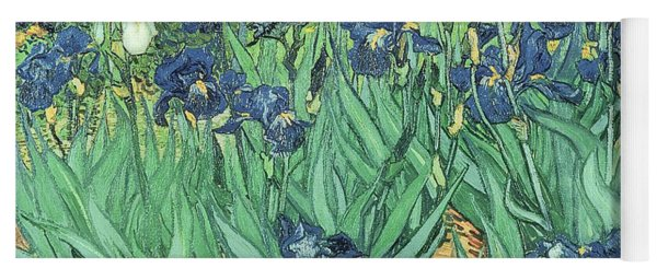 Irises Yoga Mat