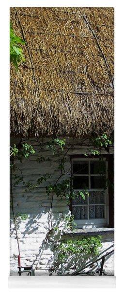 Irish Farm Cottage Window County Cork Ireland Yoga Mat