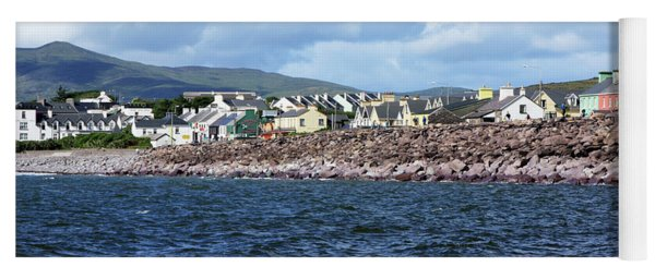 Irish Seaside Village - Co Kerry  Yoga Mat